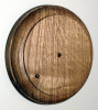 112mm Round Oak Pattress